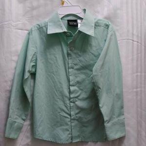 Boys button up dress size 5 Shirt